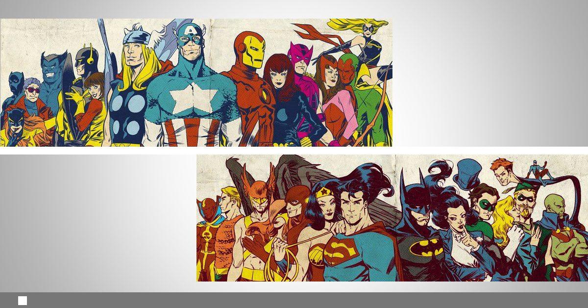 DC срещу Marvel– коя вселена печели?
